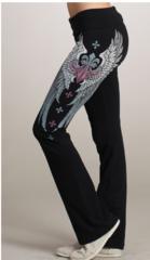 Fleur De Lis Yoga Pants