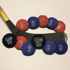 Hockey Sack  # 1,2,3,4,5,6,7,8,9