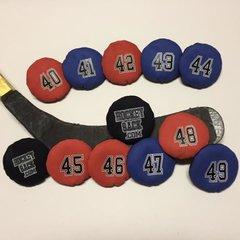 Hockey Sack  # 40,41,42,43,44,45,46,47,48,49