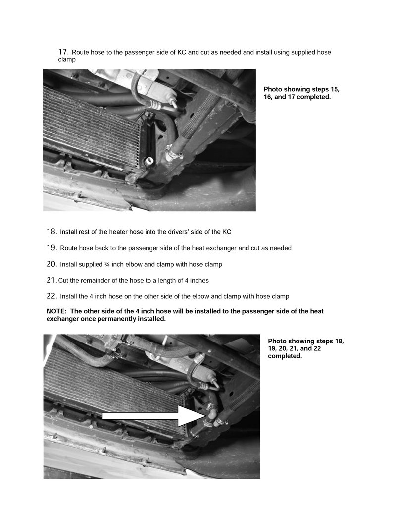 F150/Lightning Install   Heat Exchangers - Intercoolers ...