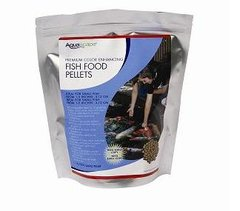 Premium Color Enhancing Fish Food Pellets - 1 Kg