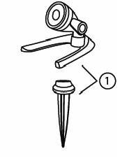 Replacement Mounting Kit for 1-Watt LED Spotlight (G2)