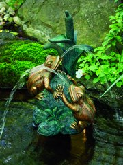 Double Frog w/Cattail Spitter w/pump 78210
