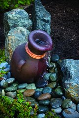 Leaning Vase Fountain 98920