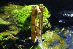 Deer Scarer Bamboo Fountain w/pump 78013