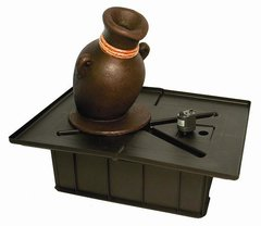 Leaning Vase Fountain Kit With Pump And Basin 98921
