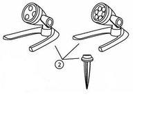 Replacement Mounting Kit for 3-Watt & 6-Watt LED Spotlight (G2)