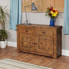 Baumhaus HEYFORD Rough Sawn Oak Small Sideboard