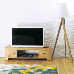 Baumhaus ASTON Oak Widescreen Television Cabinet