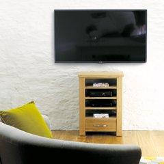Baumhaus ASTON Oak Home Entertainment Cabinet