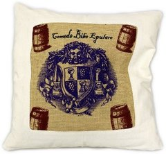 Eat Drink Be Merry Cushion