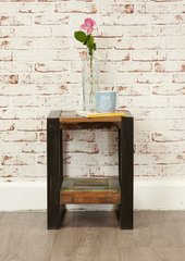 Baumhaus URBAN CHIC Low Plant Stand / Lamp Table / Bedside Table