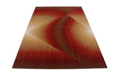 Radiant Ruby Red Rug