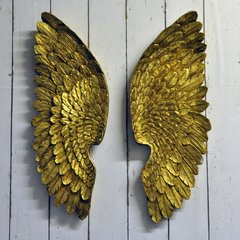 Antique Gold Left & Right Wings