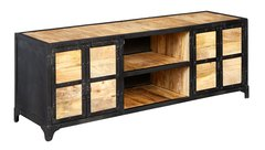 Indian Hub ASCOT Industrial Style Large TV Cabinet Unit