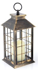 Flameless Candle lantern Gold