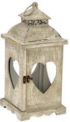 Wooden Heart Lantern