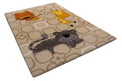 Arte Espina Childrens Jungle Brown Rug