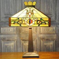 "Macintosh Style Tiffany Lamp 22"""