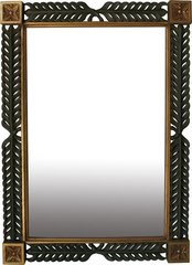 Leaf Carved Mirror