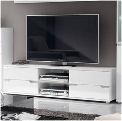 ROSE TV Unit High Gloss White