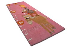 Arte Espina Childrens Long Farm Pink Rug