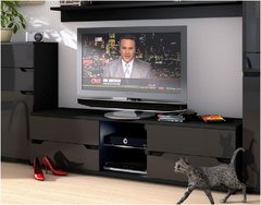 ROSE Black Gloss TV Unit