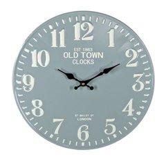 Green/Blue Metal Wall Clock 40cm