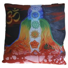 Chakra Buddha Meditation Cushion