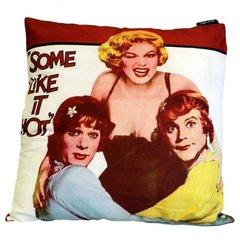 Some Like it Hot Retro Cinema Cushion