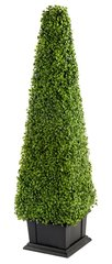 Extra Large Super Realistic Artificial Plant 120 cm Boxwood Tower Indoor Outdoor