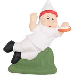 Novelty English Rugby Garden Gnome Ornament