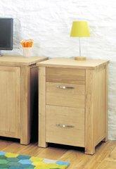 Baumhaus ASTON Oak Two Drawer Filing Cabinet