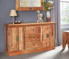 INDIAN HUB SLATE Large Sideboard