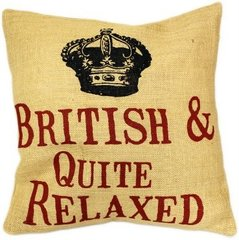 British & Quite Relaxed Cushion