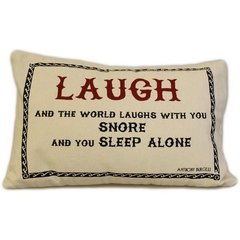 Laugh Canvas Cushion