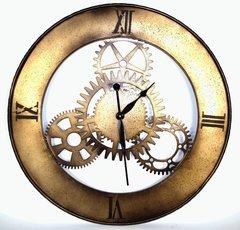 Stunning Metal Wall Clock HUGE 76cm Diameter