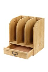 Wooden Files with Drawer 30 x 23 x 35 cm