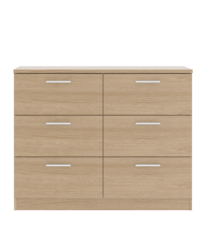 CYPRESS 3 + 3 Chest of Drawers