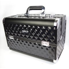 Beauty Case Vanity Case / Makeup Box Heavy Duty Black
