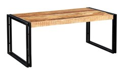 Indian Hub COSMO Industrial Style Large Coffee Table