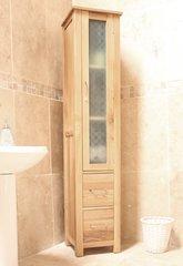 Baumhaus MOBEL Oak Closed Bathroom Unit Tall