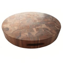 Extra Large Round Acacia Chopping Board