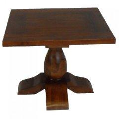 Bali Teak End Side Table Antique 100% Solid Wood