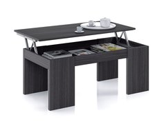 BREEZE Lift Up Oak Grey or Gloss White Coffee Table