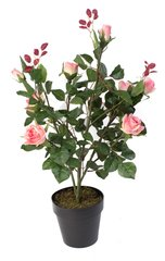 Artificial Plant Pink 90cm Rose Tree