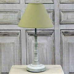 Beige Table Lamp With Beige Shade