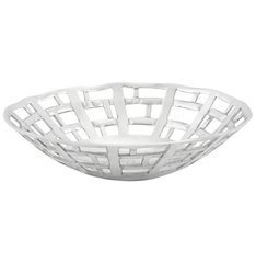 KOKOON  Fruit Basket / Dish Polished Aluminium