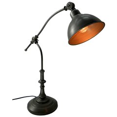 Antique Style Silver Table Lamp 60cm