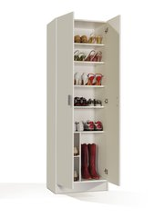BREEZE Multi Purpose White Wide Storage Cupboard